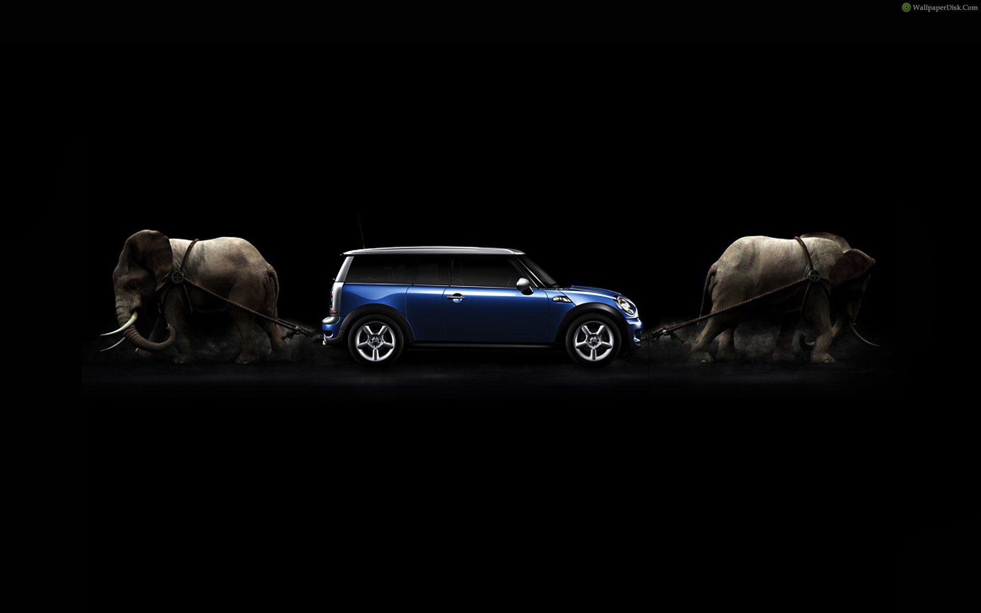 Elephant-and-Car-Wallpaper-HD